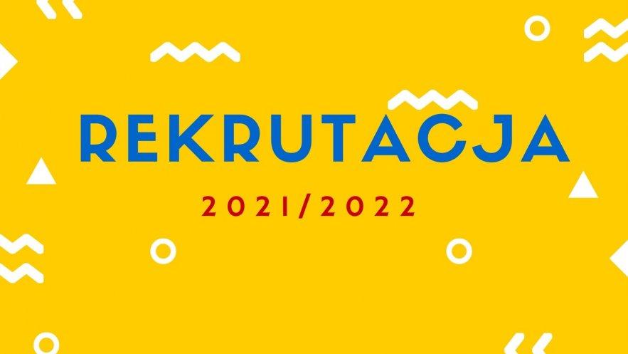 WOLNE MIEJSCA na zajęcia w roku szkolnym 2021/2022